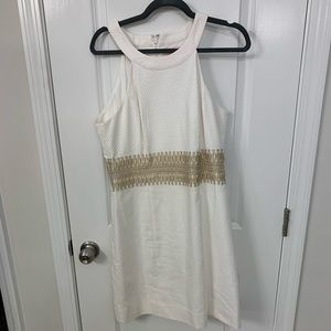 Lily Pulitzer White Ashlyn Shift Dress